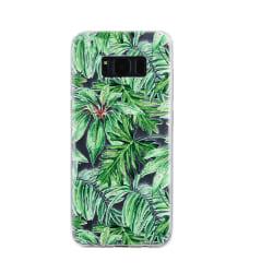 Samsung Galaxy S8 - Bladmönster Grön