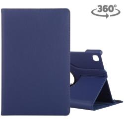 Samsung Galaxy Tab A7 T500 - Roterbart fodral Mörkblå