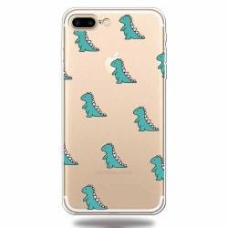 Små dinosaurier - iPhone 7/8 plus multifärg