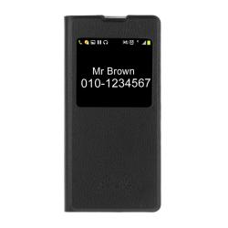Sony Xperia XA - Fodral med Call-ID fönster Svart