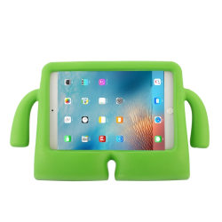 Stöttåligt Fodral med handtag för iPad Mini 1 / 2 / 3 / 4 Grön