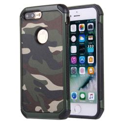 Stöttåligt Skal i camofluage för iPhone 7 Plus multifärg
