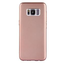 TPU skal med kameraskydd för Samsung Galaxy S8  Rosa guld