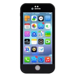 Vatten och stöttåligt skal - iPhone 7  Svart