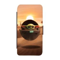 Baby Yoda iPhone XS Max Plånboksfodral