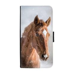 Brun Häst Huawei P10 Plus Plånboksfodral multifärg one size