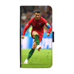 Cristiano Ronaldo 2018 Huawei Honor 8 Lite Plånboksfodral