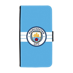 Manchester City 2016 Logo Huawei Honor 8 Lite Plånboksfodral