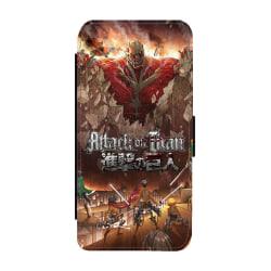 Manga Attack On Titan iPhone XS Max Plånboksfodral