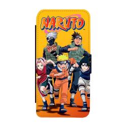Manga Naruto iPhone XS Max Plånboksfodral