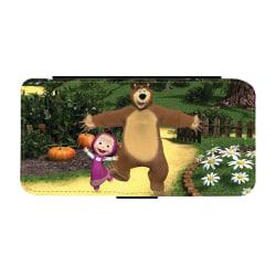 Masha och Björnen iPhone XS Max Plånboksfodral