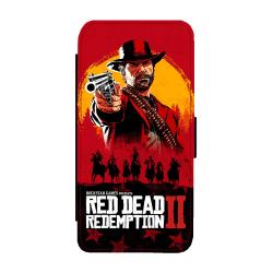 Red Dead Redemption Samsung Galaxy S9 Flip Plånboksfodral