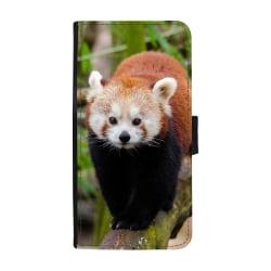 Röd Panda Huawei Honor 8 Lite Plånboksfodral