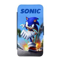 Sonic iPhone XS Max Plånboksfodral