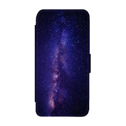 Space Galaxy Flip Plånboksfodral till iPhone 6 / 6S one size