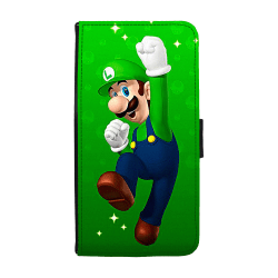 Super Mario Luigi Huawei P10 Plus Plånboksfodral