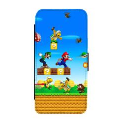 Super Mario Samsung Galaxy S7 Plånboksfodral