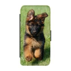 Tysk Schäferhund Valp iPhone 11 Pro Max Plånboksfodral