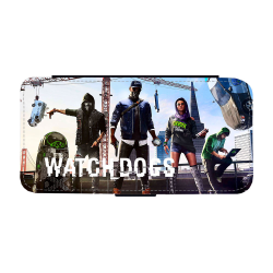 Watch Dogs iPhone XS Max Plånboksfodral