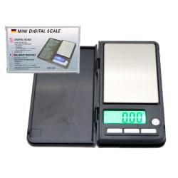Digital våg  500g inkl. batteri pocketscale Ultrakompakt design