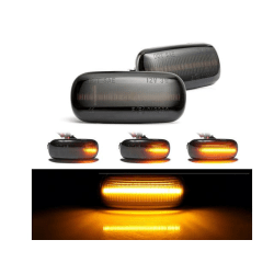 Led dynamisk blinkers Audi A3 A4 A6 Smoke lens  styling 2-pack
