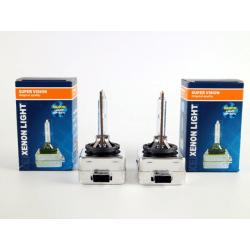 Xenon Lampor +50% D1S 35W 6000k  xenonlampor Supervision D1s 6000k 2-pack