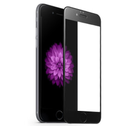 3D Curved Glass Protector - iPhone 7/8 Svart