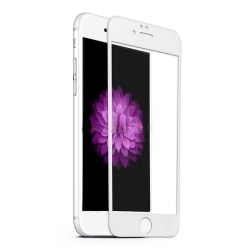 3D Curved Glass Protector - iPhone 7/8+ Vit