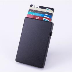 Aluminum RFID Card Holder Svart