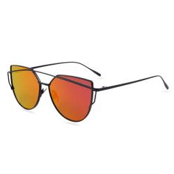 Cat Eye Sunglasses Röd