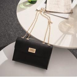Chain Shoulder Bag Svart