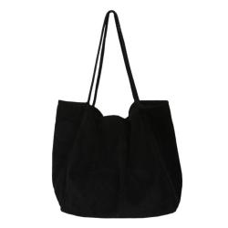 Cord Tote Bag  Svart