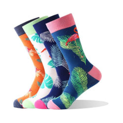 Flamingo Socks 4-pack multifärg