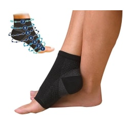 Foot sleeve L/XL multifärg