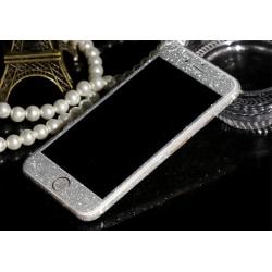 Glitter film iPhone 6+/6s+ Silver