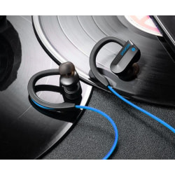 K98 Bluetooth Earphones Blå