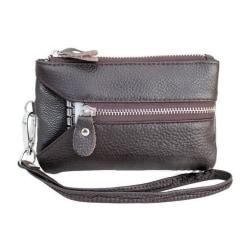 Multiplånbok till mobilen/nycklarna/kreditkorten i olika färger Mörkbrun