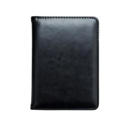 RFID Passport Wallet Svart