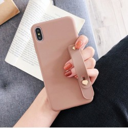 Strap iPhone Case- iPhone 11 PRO MAX  Brun