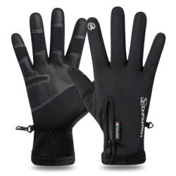 Warm Telefinger Glove - Black Black M