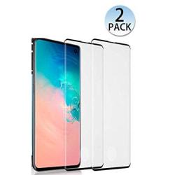 2 st hög kvalitet  heltäckande plexiglas för Samsung s10