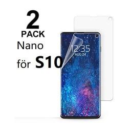 2 st  super Nano filmfolie för Samsung S10