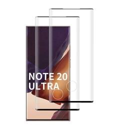 4 st heltäckande skärmskydds för Samsung Note 20 ultra