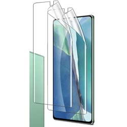 2 st Nano Skyddsfilm med full täckning för Samsung Note 20 ultra