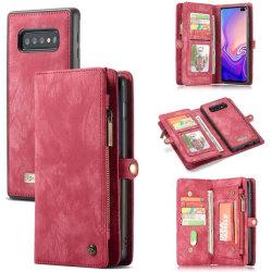 CaseMe 008 för Samsung S10 plus|röd röd
