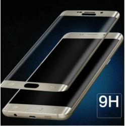 HELTÄCKAND  för  Samsung GALAXY S7 Edge svart svart