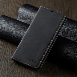 Hög kvalitet fodral för iphone 12 pro max mörk svart