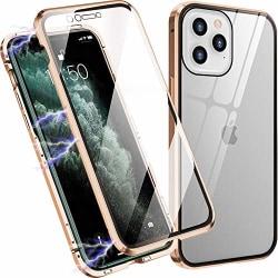 Magneto för iphone 12/12 pro guld guld