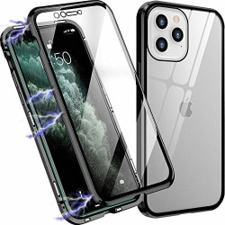 Magneto för iphone 12 pro max|svart svart