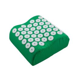 Spikkudde i grönt